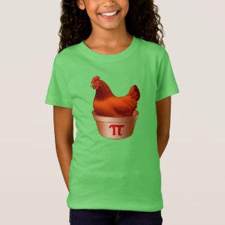 Funny Chicken Pot Pi (Pie) Red Hen T-Shirt