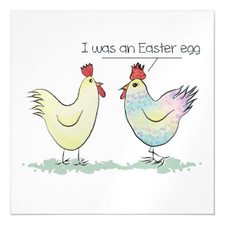 Funny Chicken was an Easter Egg Magnetic Card
