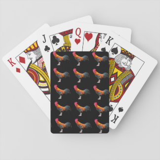 Funny Chickens Roosters Birds Hens Playing Cards