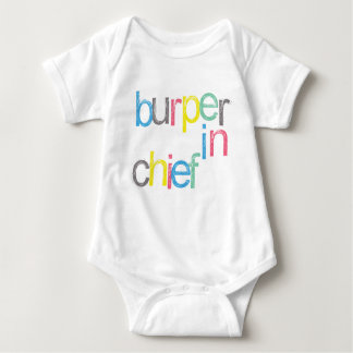 Funny! Chief Burper Baby Baby Bodysuit