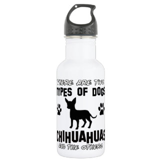 Funny CHIHUAHUA designs 532 Ml Water Bottle