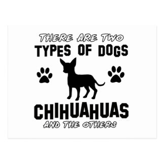 Funny CHIHUAHUA designs Postcard