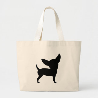 Funny Chihuahua Large Tote Bag