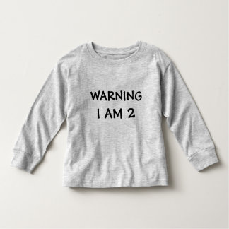 Funny Childrens Warning Label Tees