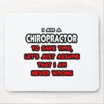 Funny Chiropractor T-Shirts and Gifts Mousemats