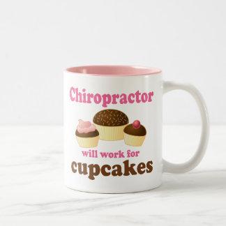 Funny Chiropractor Two-Tone Mug