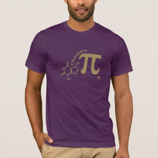 Funny Chocolate Pi Shirt