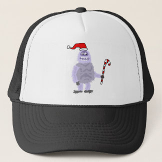 Funny Christmas Abominable Snowman Trucker Hat