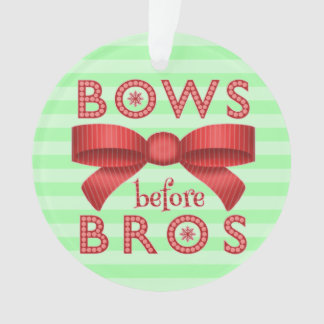 Funny Christmas Bows Before Bros Cute