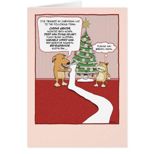 funny animal christmas cards