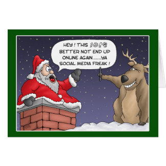 Funny Christmas Cards: Online Post Greeting Card