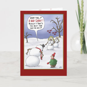 Funny christmas cards greeting cards zazzle uk funny christmas cards size matters holiday card m4hsunfo
