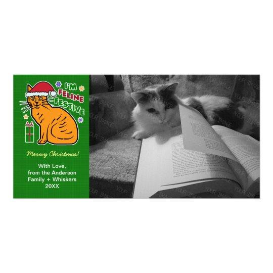 Funny Christmas Cat Feline Festive Holiday Pun Pet