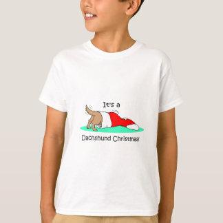 Funny Christmas Dachshund T-Shirt