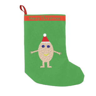 funny christmas egg custom stocking - Funny Christmas Stockings