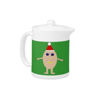 Funny Christmas Egg Teapot