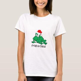 Funny Christmas frog T-Shirt
