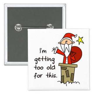Funny Christmas Gift 15 Cm Square Badge