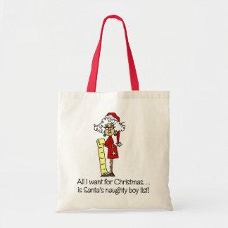 Funny Christmas Gift Bag