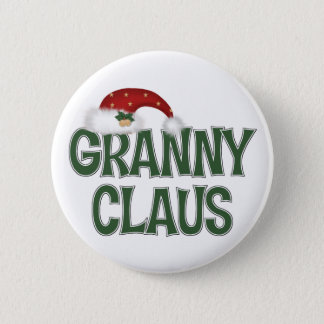 Funny Christmas Gift For Grandother 6 Cm Round Badge