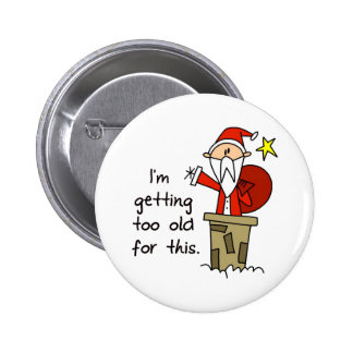 Funny Christmas Gift Pinback Button