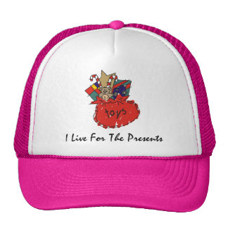 Funny Christmas Mesh Hat