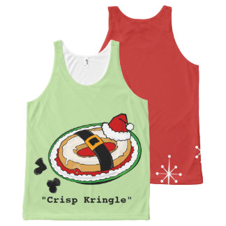 FUNNY CHRISTMAS HOLIDAY KRINGLE TANK TOP