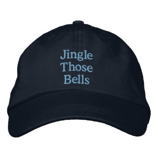 Funny Christmas innuendo Embroidered Baseball Cap