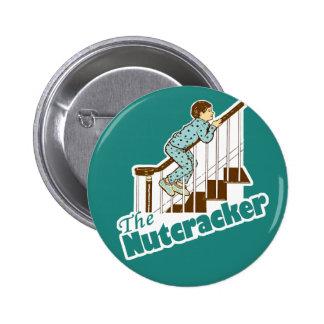 Funny Christmas Nutcracker 6 Cm Round Badge