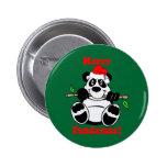 Funny Christmas Panda Bear