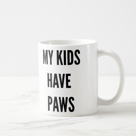 Funny Christmas pet lover my kids have paws