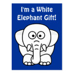 Funny Christmas Present: Real White Elephant Gift!