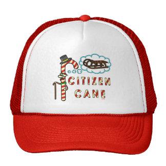 Funny Christmas Pun Citizen Cane Cap