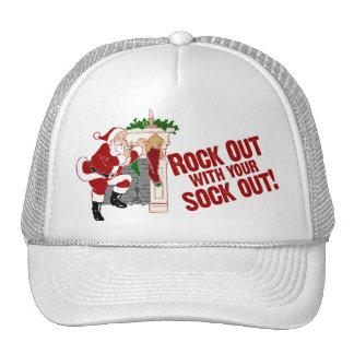 Funny Christmas Santa Claus Mesh Hat