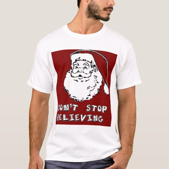 Funny CHRISTMAS SANTA 'DON'T STOP BELIEVING' FUNNY