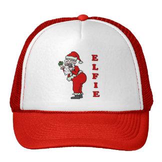 Funny Christmas Santa Elfie Cap