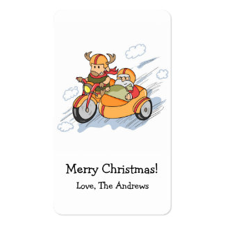 Funny Christmas, Santa's sleigh upgraded Pack Of Standard Business Cards