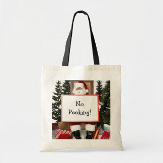 Funny Christmas shopping bag