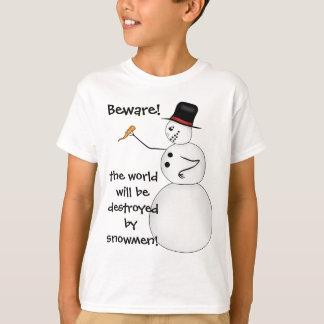 Funny Christmas snowman T-Shirt