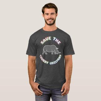 Funny Chubby Unicorn T-Shirt