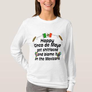 Funny  Cinco de Mayo Ladies T-Shirt