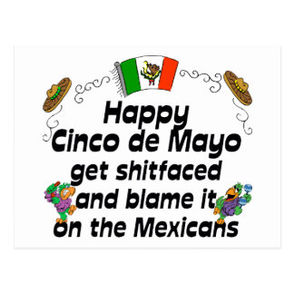 Funny Cinco de Mayo Postcard