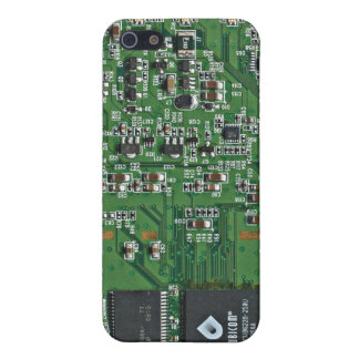 Funny circuit board iPhone 5 covers
