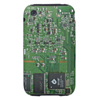 Funny circuit board tough iPhone 3 covers