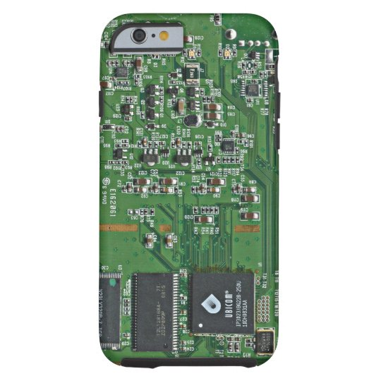 Funny circuit board tough iPhone 6 case