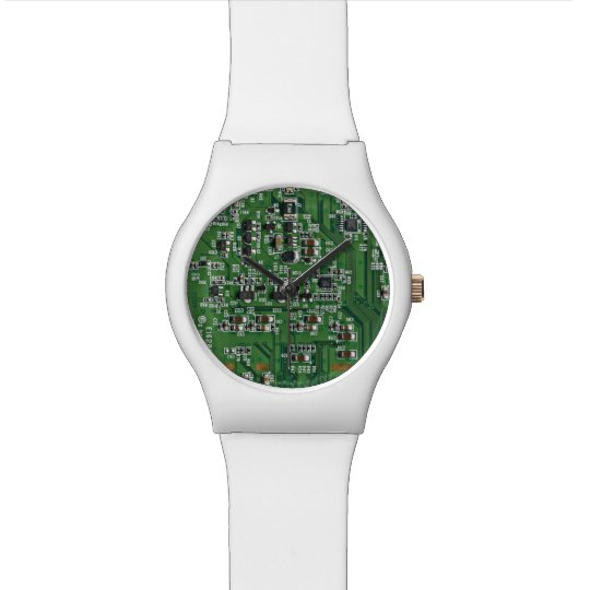 Funny circuit board watch