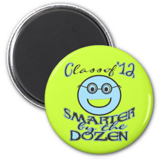 Funny Class of 2012 - Smarter by the Dozen Magnet