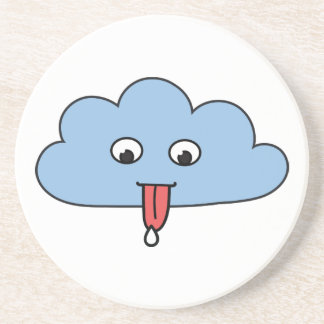 Funny Cloud Beverage Coasters