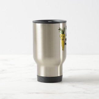 funny cocky carrot  is amazing peace  of ar work stainless steel travel mug