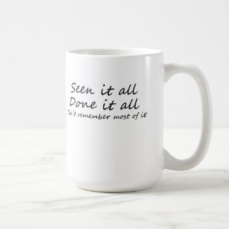 Funny coffee cups unique gift ideas or retail item basic white mug